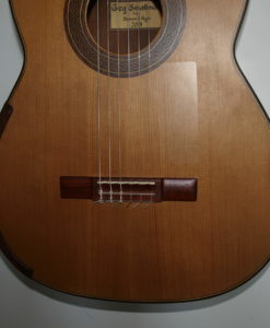 Greg Smallman classical guitar luthier lattice 2001