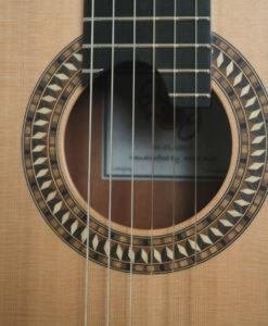 Allan Bull classical lattice guitar