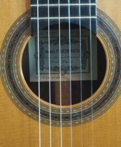 Daniel Friederich classical guitar luthier