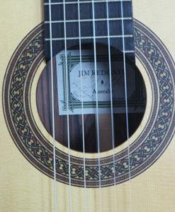 Jim Redgate classical guitar luthier lattice