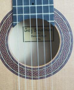 Greg Smallman 2014 classical guitar luthier lattice