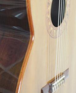 classical guitar luthier ian Kneipp lattice bracing