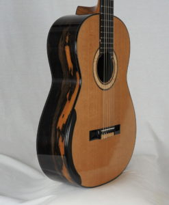 Classical guitar Deluxe model luthier Kim Lissarrague
