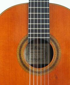 Daniel Friederich luthier classical guitar No 653 1988 19FRI653-06