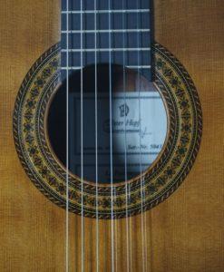 Giutare classical du luthier dieter hopf Portentosa