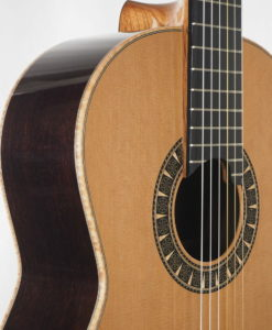 Classical guitar double-top from the luthier Martin Blackwell17BLA141-03