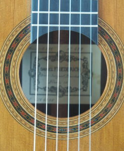 Daniel Friederich luthier classical guitar N°4791978 19FRI479-10