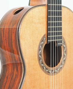Charalampos Koumridis luthier classical guitar No 131 19KOU131-05