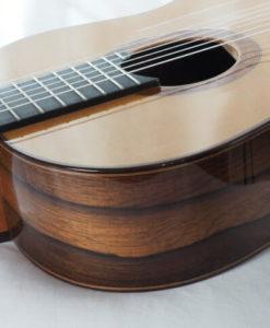 Luthier Regis Sala classical guitar Australe lattice No 2018 37-07