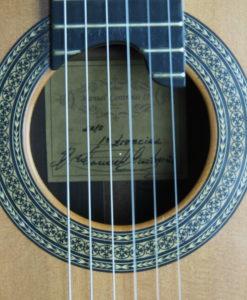 Luthier Manuel Contreras classical guitar