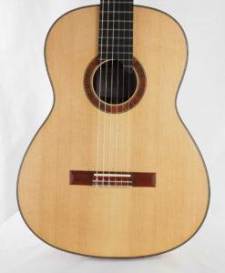 Luthier classical guitar Gypsy Rye Bear lattice 07