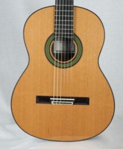 Classical guitar luthier Reza Safavian